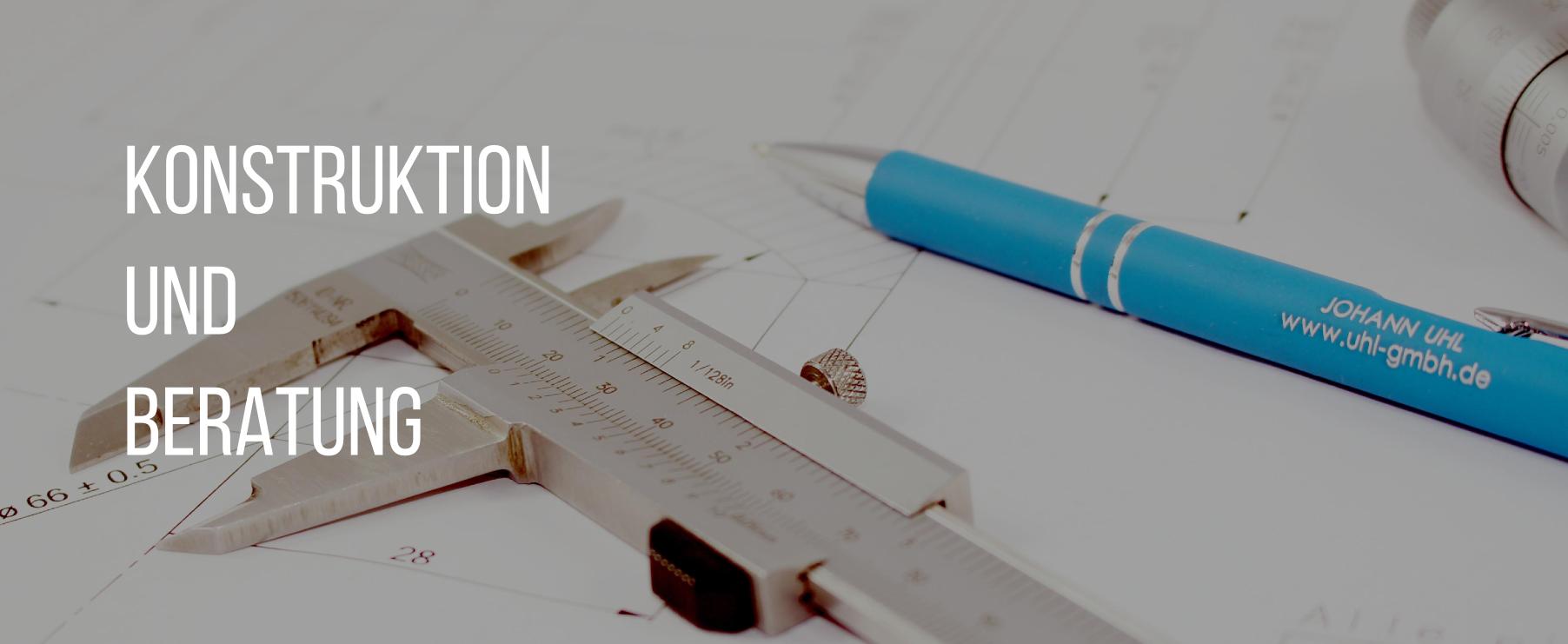 Konstruktion und Beratung